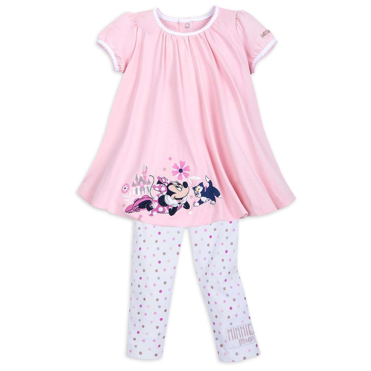 f44fd32072de2f Product Image of Minnie Mouse Bubble Top and Leggings Set for Girls - Walt  Disney World