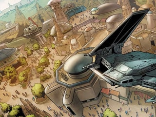 SWCC 2019: Marvel's Star Wars: Galaxy's Edge #1 Art and More Revealed