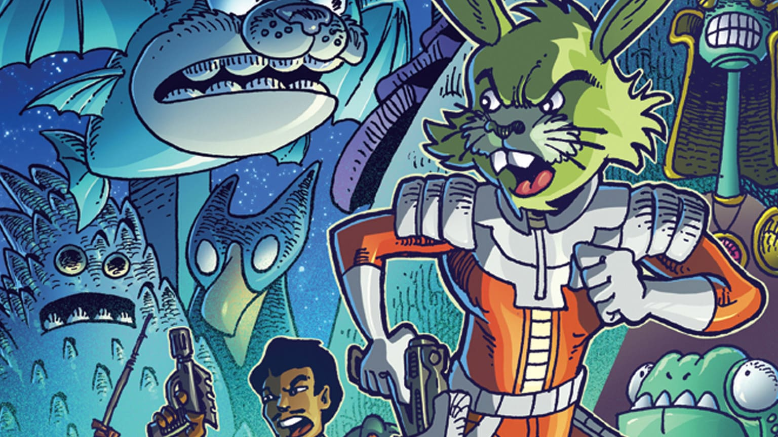 SWCC 2019: New Tales from Vader's Castle Series Announced, Jaxxon Returns, and More from the IDW Publishing Panel