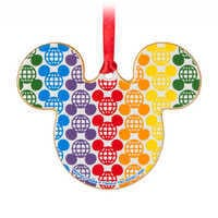 Image of Rainbow Disney Collection Mickey Mouse Ceramic Ornament # 2
