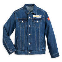 Image of Mickey Mouse Denim Jacket for Adults - Disneyland # 1