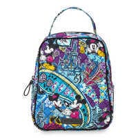 Image of Mickey and Minnie Mouse Paisley Lunch Bunch Bag by Vera Bradley # 1
