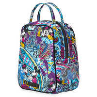 Image of Mickey and Minnie Mouse Paisley Lunch Bunch Bag by Vera Bradley # 2