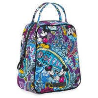 Image of Mickey and Minnie Mouse Paisley Lunch Bunch Bag by Vera Bradley # 3
