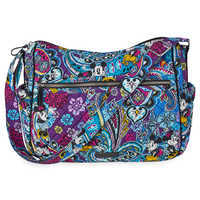 Image of Mickey and Minnie Mouse Paisley On the Go Crossbody Bag by Vera Bradley # 1