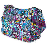 Image of Mickey and Minnie Mouse Paisley On the Go Crossbody Bag by Vera Bradley # 3