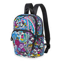 Image of Mickey and Minnie Mouse Paisley Hadley Backpack by Vera Bradley # 2