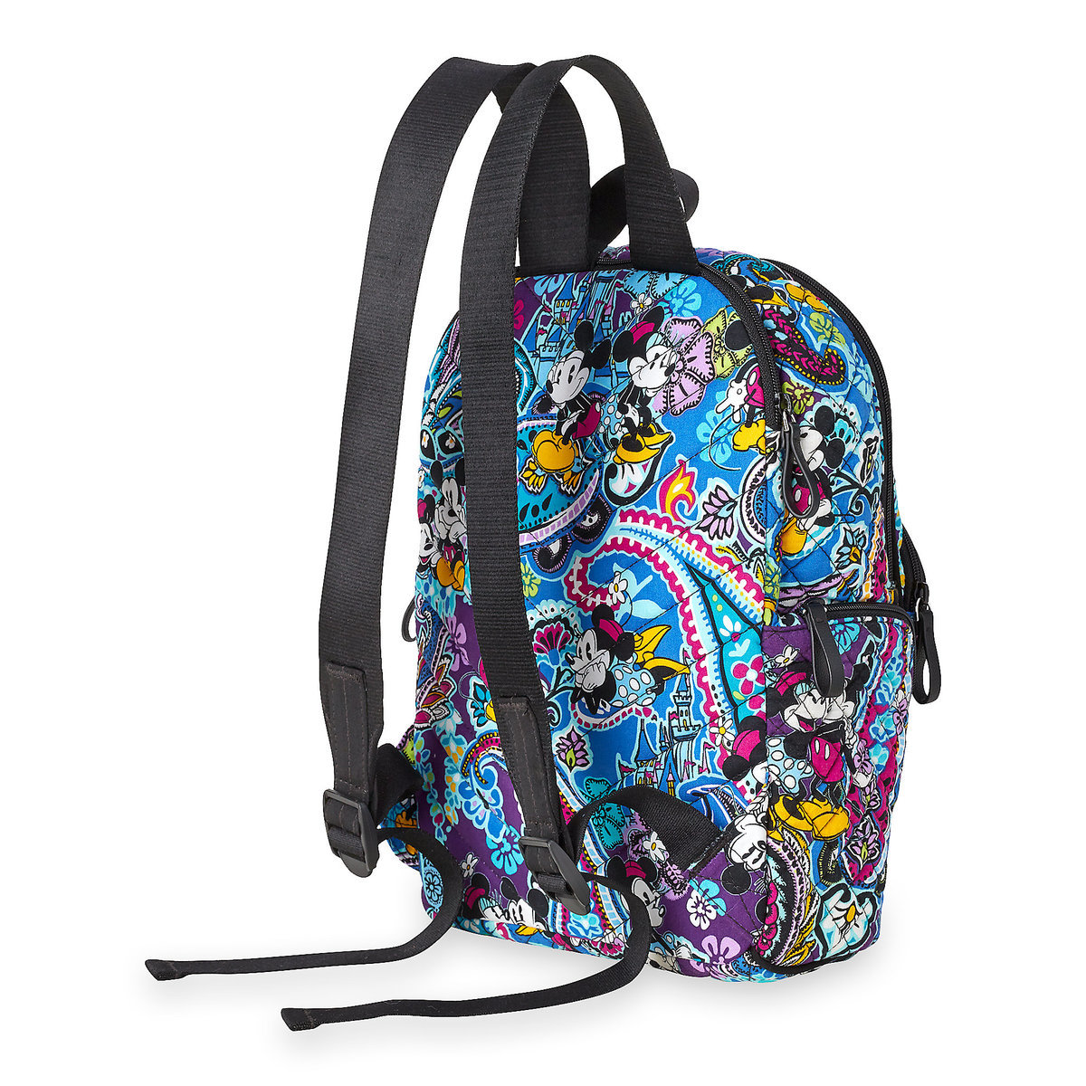 Vera Bradley Mickey and Minnie Paisley Backpack