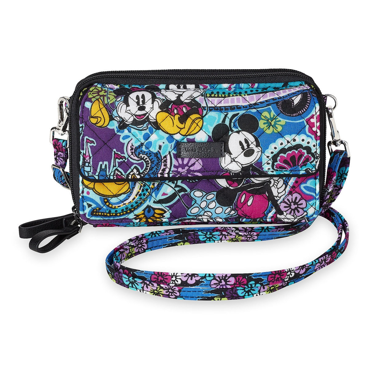 Vera Bradley Mickey and Minnie Paisley All-In-One Crossbody