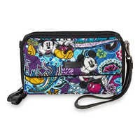 Image of Mickey and Minnie Mouse Paisley All in One Crossbody and Wristlet by Vera Bradley # 5