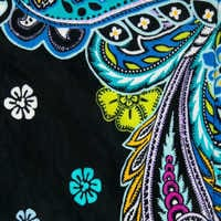 Image of Mickey and Minnie Mouse Paisley Throw Blanket by Vera Bradley # 3