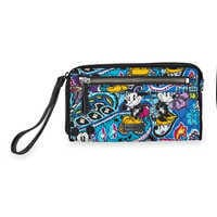 Image of Mickey and Minnie Mouse Paisley Wristlet by Vera Bradley # 1