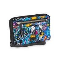 Image of Mickey and Minnie Mouse Paisley Wristlet by Vera Bradley # 3
