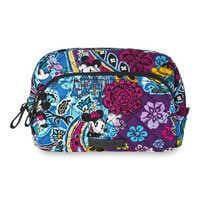 Image of Mickey and Minnie Mouse Paisley Medium Cosmetic Bag by Vera Bradley # 1