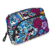 Image of Mickey and Minnie Mouse Paisley Medium Cosmetic Bag by Vera Bradley # 2