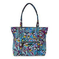 Image of Mickey and Minnie Mouse Paisley Tote by Vera Bradley # 1