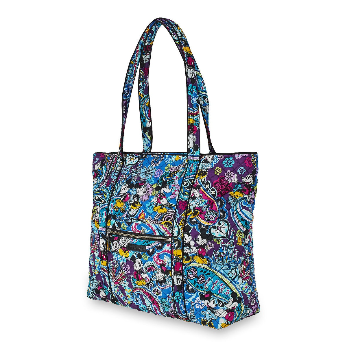 Vera Bradley Mickey and Minnie Paisley Tote