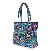 Image of Mickey and Minnie Mouse Paisley Tote by Vera Bradley # 2
