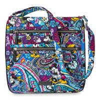 Image of Mickey and Minnie Mouse Paisley Hipster Bag by Vera Bradley # 1