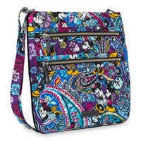 Image of Mickey and Minnie Mouse Paisley Hipster Bag by Vera Bradley # 2