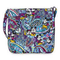 Image of Mickey and Minnie Mouse Paisley Hipster Bag by Vera Bradley # 3