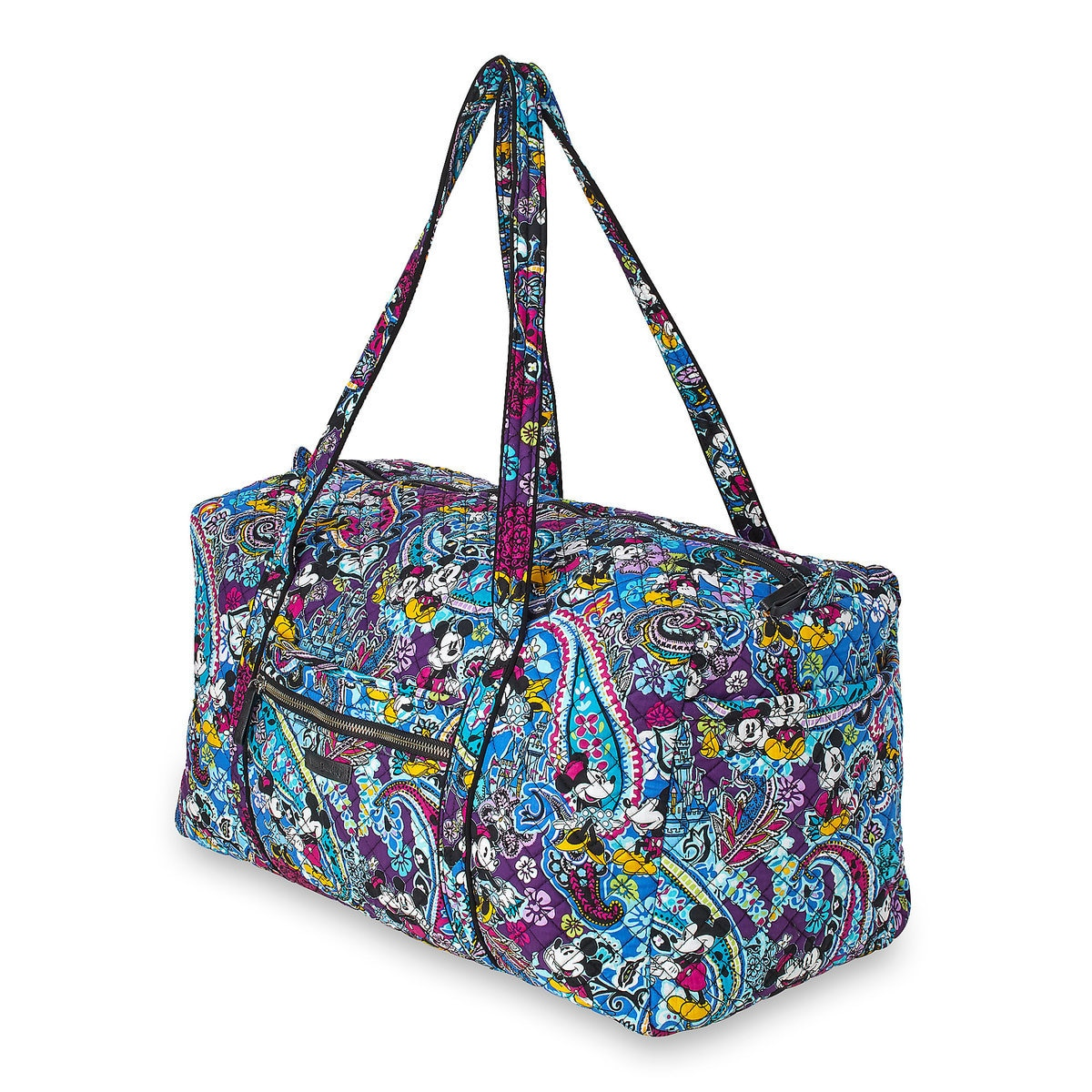 Vera Bradley Mickey and Minnie Paisley Duffel Bag