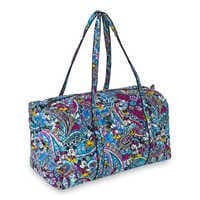 Image of Mickey and Minnie Mouse Paisley Duffel Bag by Vera Bradley # 3