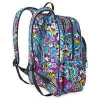 Image of Mickey and Minnie Mouse Paisley Campus Backpack by Vera Bradley # 3