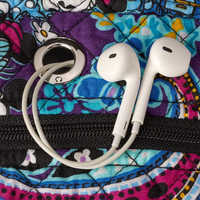 Image of Mickey and Minnie Mouse Paisley Campus Backpack by Vera Bradley # 5
