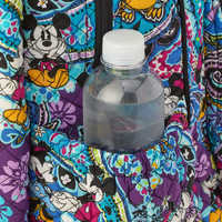 Image of Mickey and Minnie Mouse Paisley Campus Backpack by Vera Bradley # 6