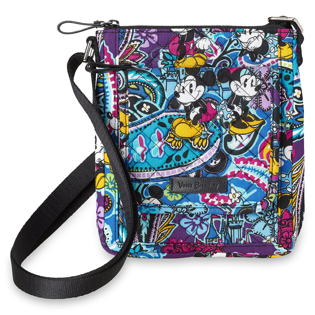 Vera Bradley Mickey and Minnie Paisley Mini Hipster Bag