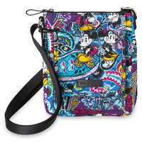Image of Mickey and Minnie Mouse Paisley Mini Hipster Bag by Vera Bradley # 1
