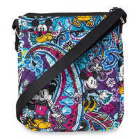 Image of Mickey and Minnie Mouse Paisley Mini Hipster Bag by Vera Bradley # 2