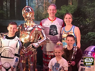 Fans Celebrate the Saga on Star Wars Day at Sea