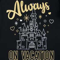 Image of Always on Vacation T-Shirt for Girls - Walt Disney World # 2