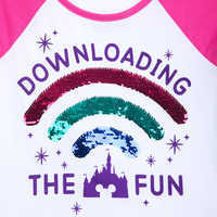 Image of Downloading the Fun Reversible Sequin T-Shirt for Girls # 4