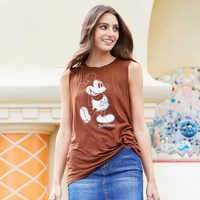Image of Mickey Mouse Tank Top for Women - Disneyland # 2