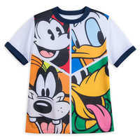 Image of Mickey Mouse and Friends Ringer T-Shirt for Boys # 1
