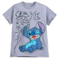 Image of Stitch Two-Sided T-Shirt for Boys # 1