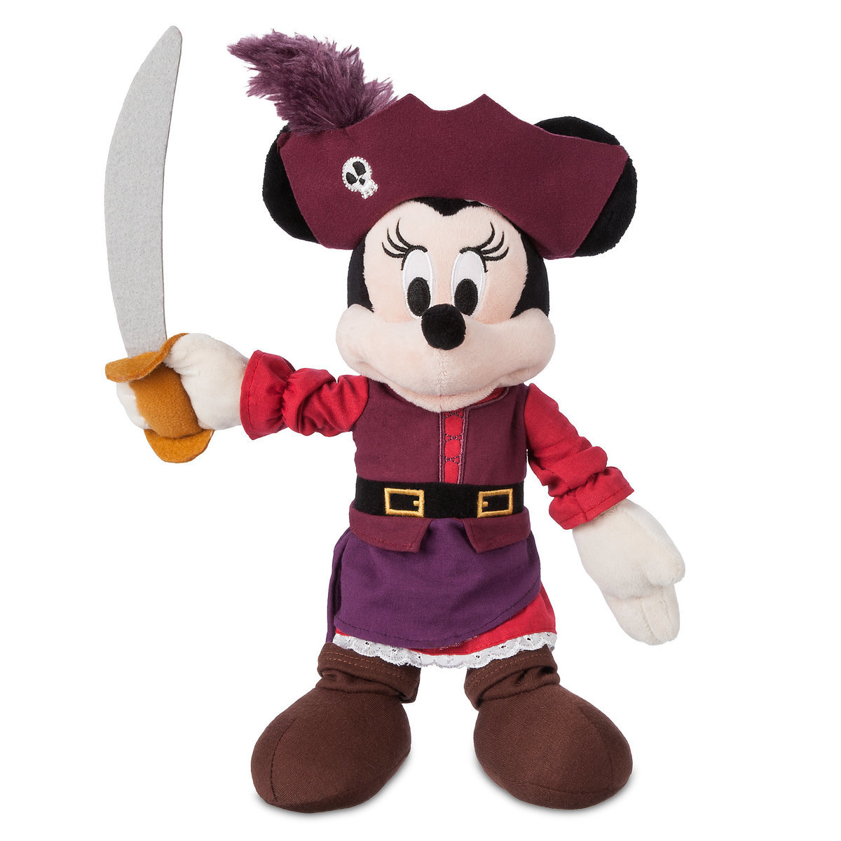993b7e67fad06 Product Image of Minnie Mouse Plush - Pirates of the Caribbean - Small - 12'