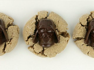 Have a Most Impressive Father's Day with These Darth Vader Peanut Butter Blossom Cookies