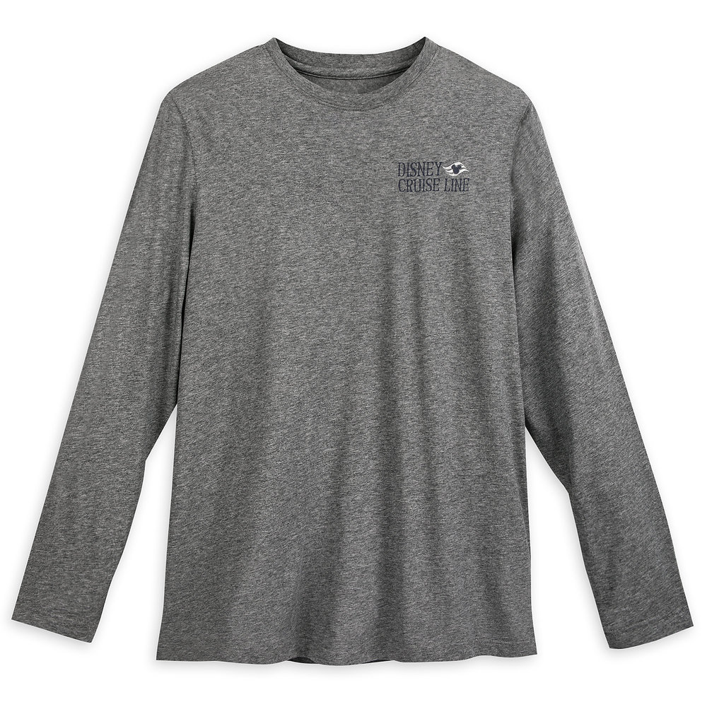 Captain Mickey Mouse Long Sleeve T-Shirt for Men - Disney Cruise Line