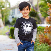 Image of Jack Skellington Layered T-Shirt for Boys # 2