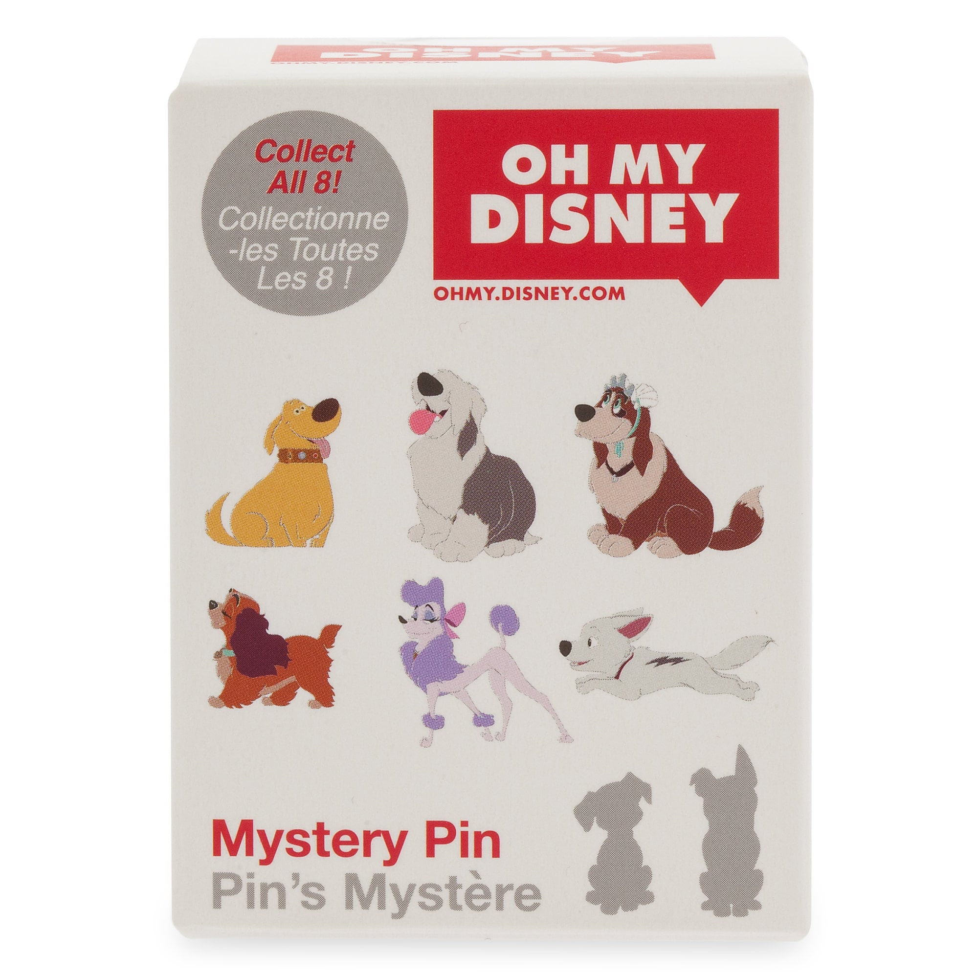 Disney Dogs Mystery Pin Dug from UP Oh My Disney 2019 Mystery Set