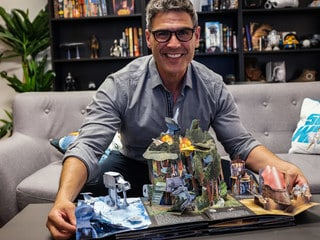 5 Questions with Matthew Reinhart, Star Wars: The Ultimate Pop-Up Galaxy Author