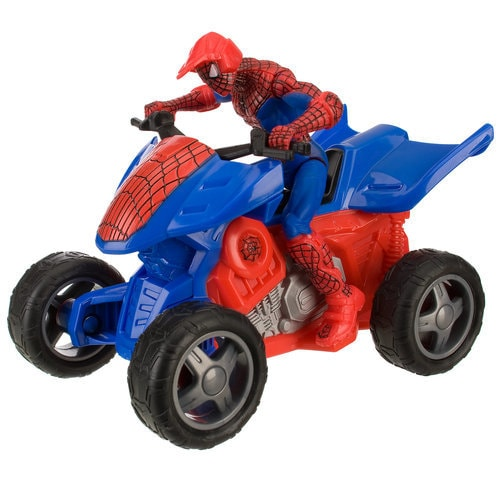 Spider-Man Quad Racer Zoom N' Go -- 5'' L