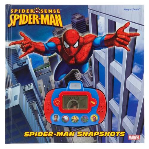 Spider-Sense Spider-Man Snapshots Digital Camera Play-a-Sound Book