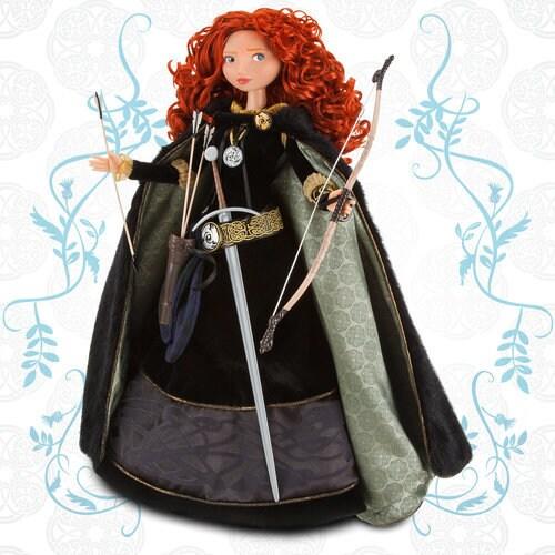 Limited Edition Merida Doll -- 18'' H