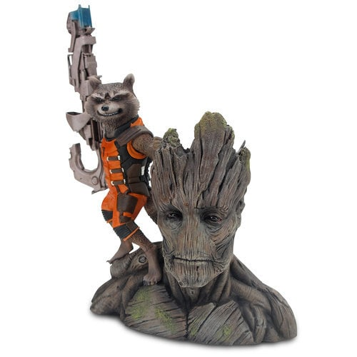 Rocket Raccoon and Groot ARTFX+ Figure by Kotobukiya
