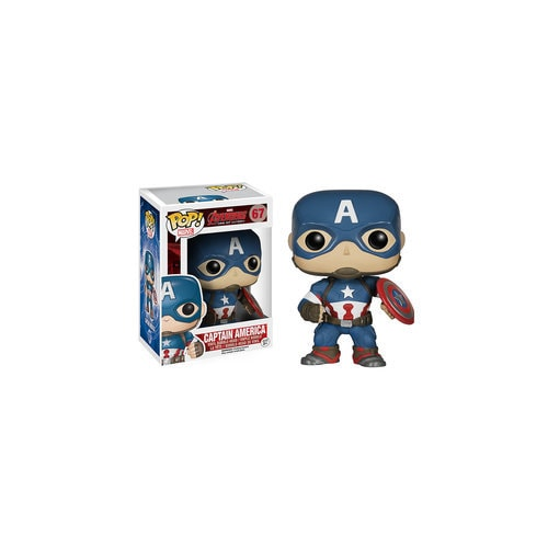 Captain America Pop! Vinyl Bobble-Head Figure by Funko ? Marvel's Avengers: Age of Ultron